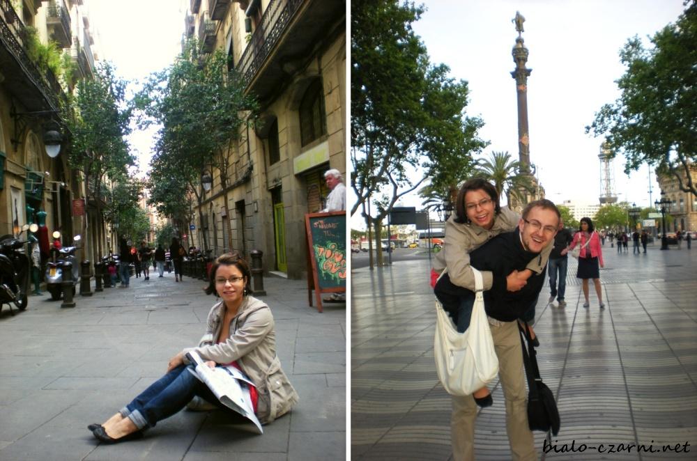 Hiszpania, Barcelona kolaz3